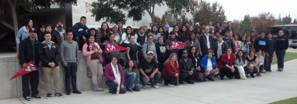 Teaching Anthropology in 2014: hosting a group of Pajaro Valley high school students and their farmworker parents at Fresno State: the first generations.